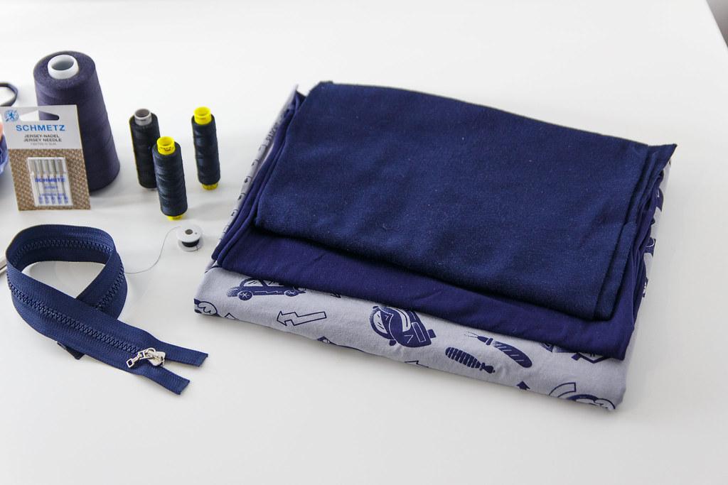 Jak uszyć bluzę potrzebne materiały