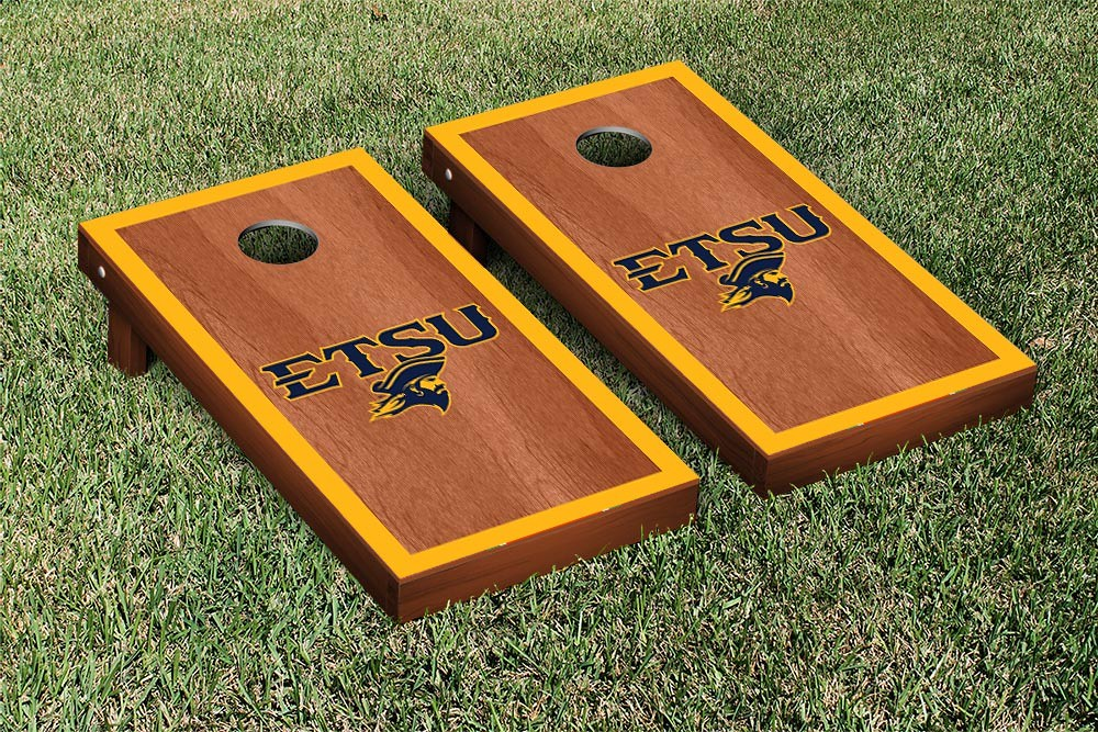 East Tennessee State Buccaneers Rosewood Border Version