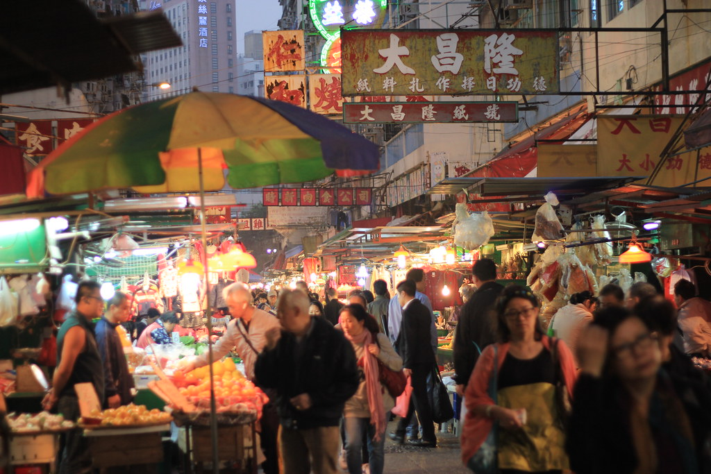 Kawloon, Temple Street Night Market