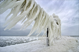Ice Blowing in the Wind | by Tom Gill.