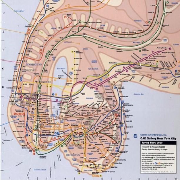 Nyc Subway Map Nyc Newyork Humanbody Anatomy M Flickr
