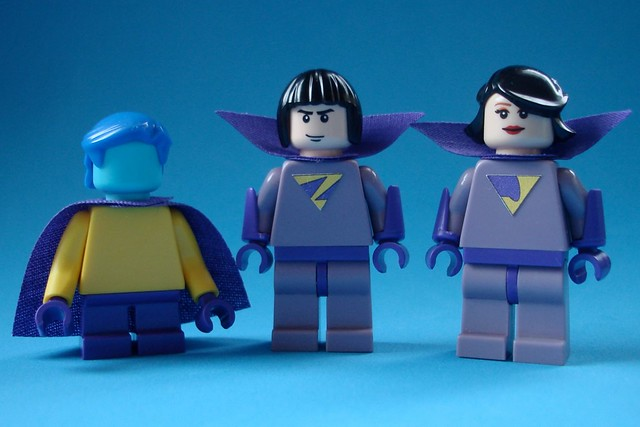 Wonder Twins WIP | Flickr - Photo Sharing!