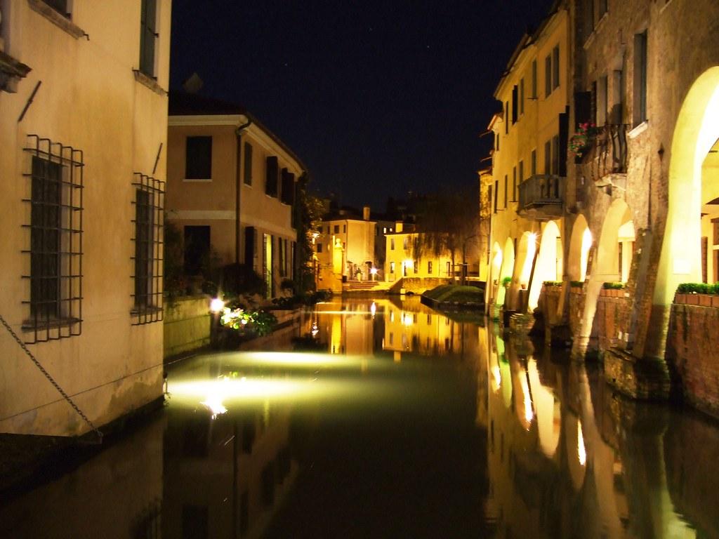 Treviso Di Notte E 39 La Prima Foto Che Pubblico Su Flickr