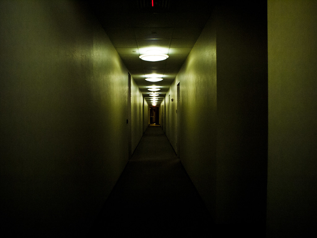 Dark hallway it 39 s really not that dark and ominous but for Hallway photos
