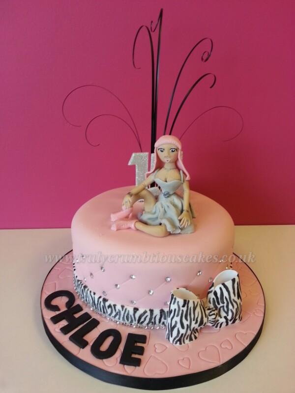 Nicki Minaj Cake Debbie Scott Flickr