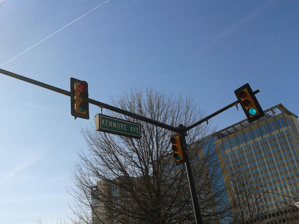 Contrail Traffic Lights Mark Center Brac Building Flickr