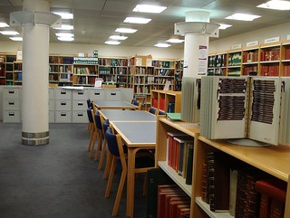 Inside the Croydon Local Studies Library | by Kake .