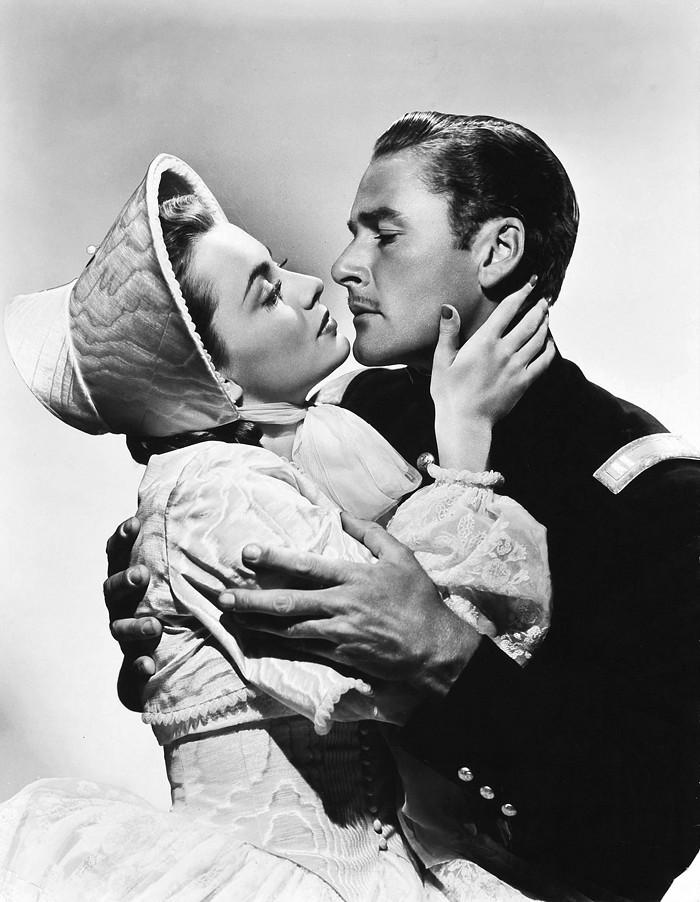 Olivia de Havilland and Errol Flynn   publicity photo for ... Errol Flynn Olivia De Havilland