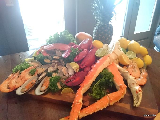 Boil King seafood platter