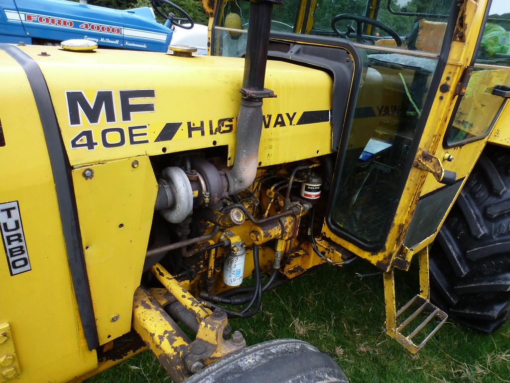 mf highway 40e unusual small industrial turbo mf k garrett flickr rh flickr com Massey Ferguson 40B Massey Ferguson 40B