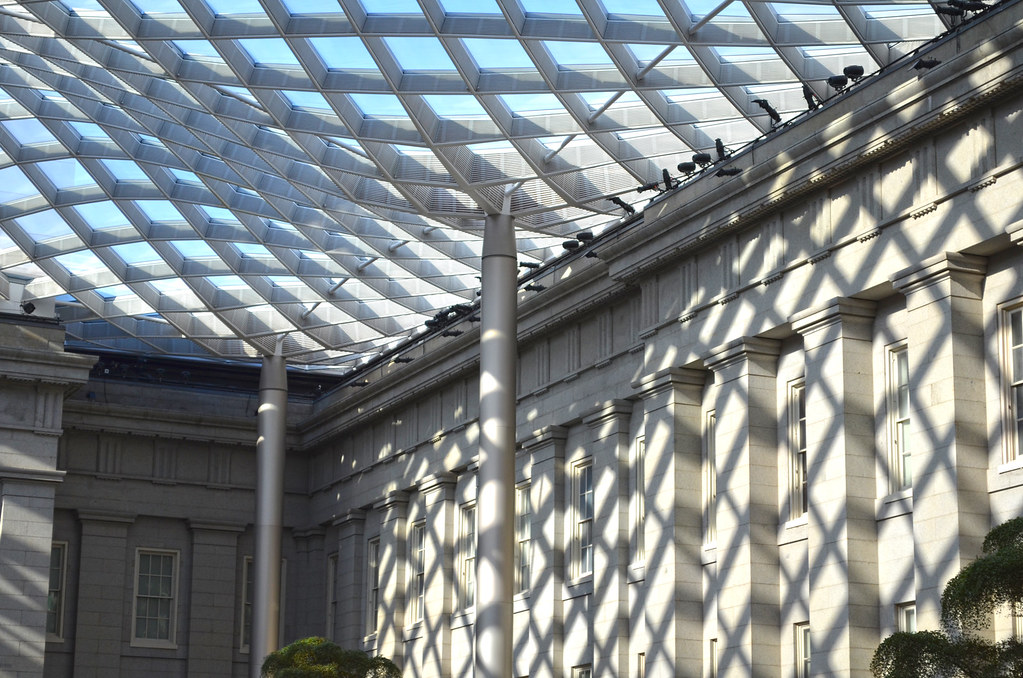 Kogod Courtyard Northeast Corner Smithsonian American