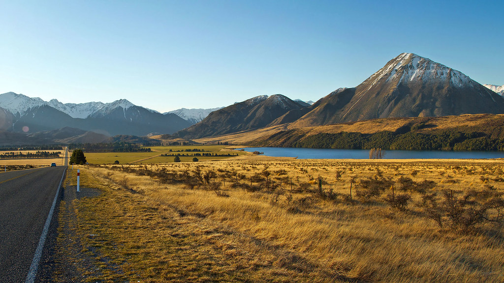 New zealand landscape south island colin capelle flickr for Landscaping companies in new zealand