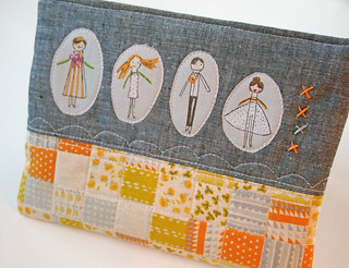 clothespin kids pouch | by Spotted Stone Studio {Krista}