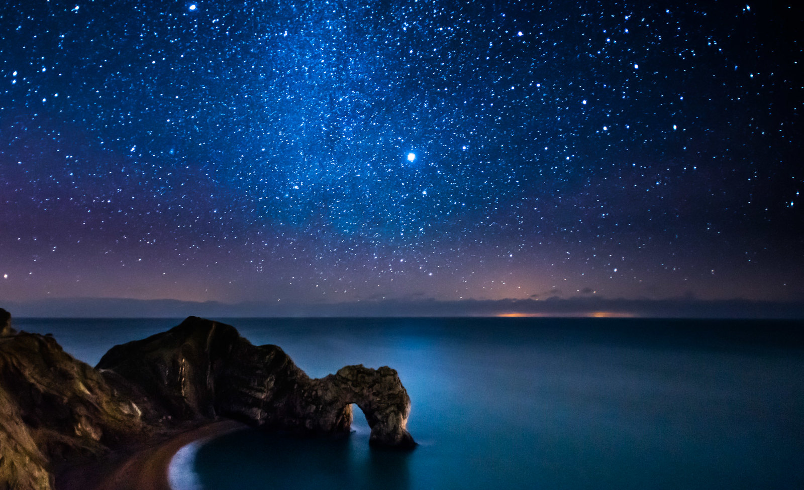 Image result for ocean at night with stars