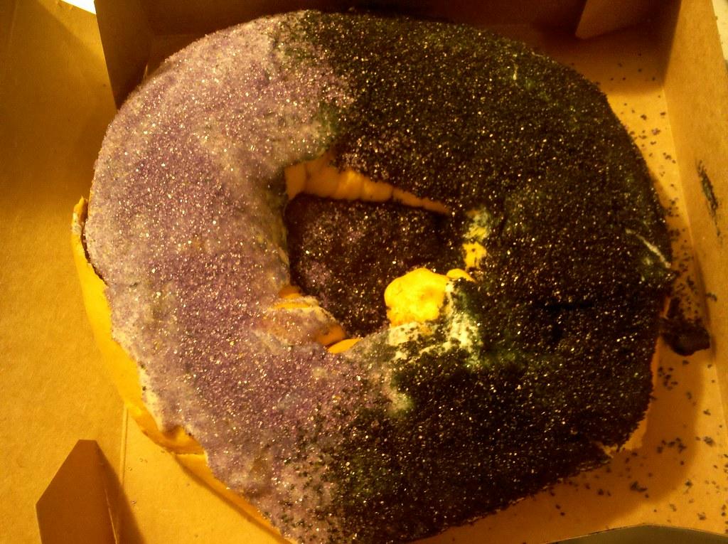 King Cake With Cinnamon Roll Recipe
