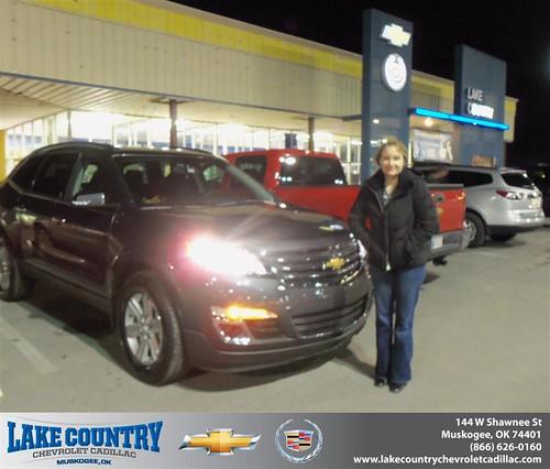Jones Cadillac: Congratulations To Brandy Jones On The 2013 CHEVROLET TRAV…
