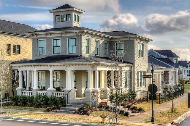 Italian style home by louisville southern living custom for Classic house phoenix