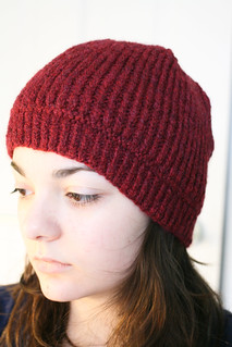 Zigzag Mandy's Water Street cap in Rowan Lima | by add_knitter