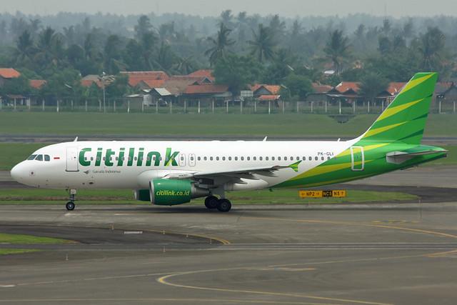 PK-GLI Garuda Citilink A320-214 Jakarta 22/11/2012
