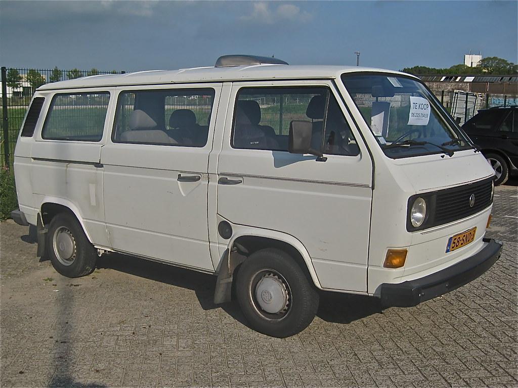 volkswagen transporter t3 1980 nice van for sale 1600c flickr. Black Bedroom Furniture Sets. Home Design Ideas