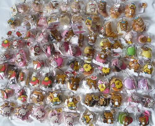 Rilakkuma Tag Squishy Supplier : rilakkuma squishy straps Lori Flickr