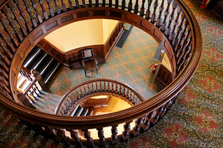 Courthouse stairs | by eeksy