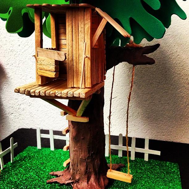 Casa del rbol estudiantedearquitectura casa arbol maq - Casas de madera en arboles ...