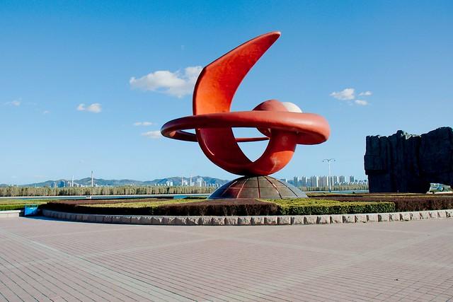 Yantai statue