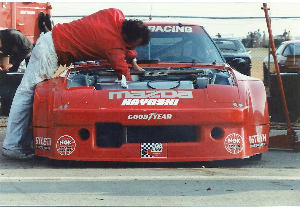 Mazda >> IMSA Kent Racing Mazda RX7 | Taken at Pocono 1981 IMSA race.… | Flickr