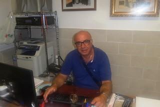 Noicattaro. Il coordinatore della Caritas Mimmo Dipinto front