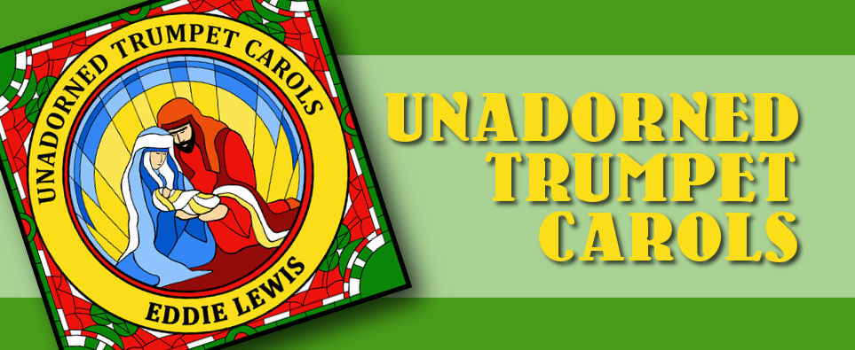 Unadorned Trumpet Carols Banner