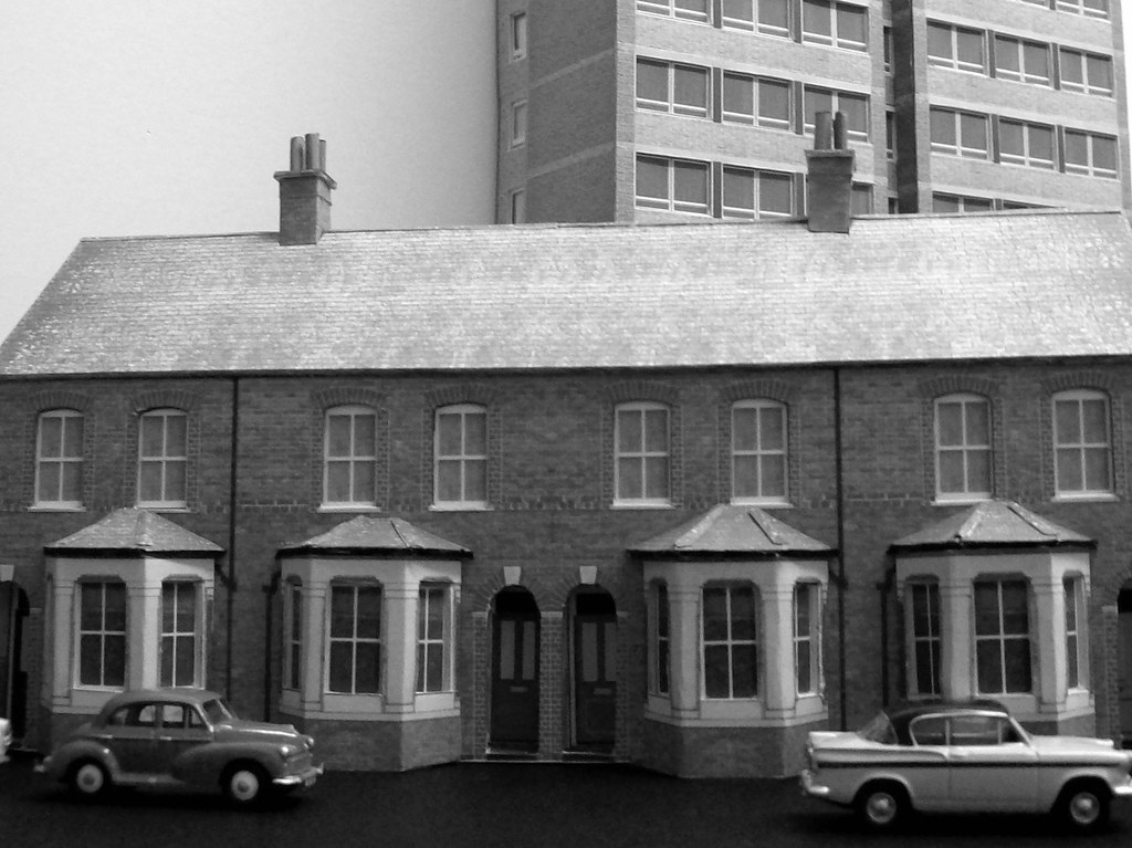 Edwardian Terraced Houses 1 76 Scale First Build Of The