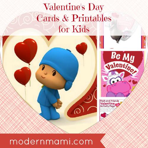 valentine u0026 39 s day cards  u0026 printables for kids