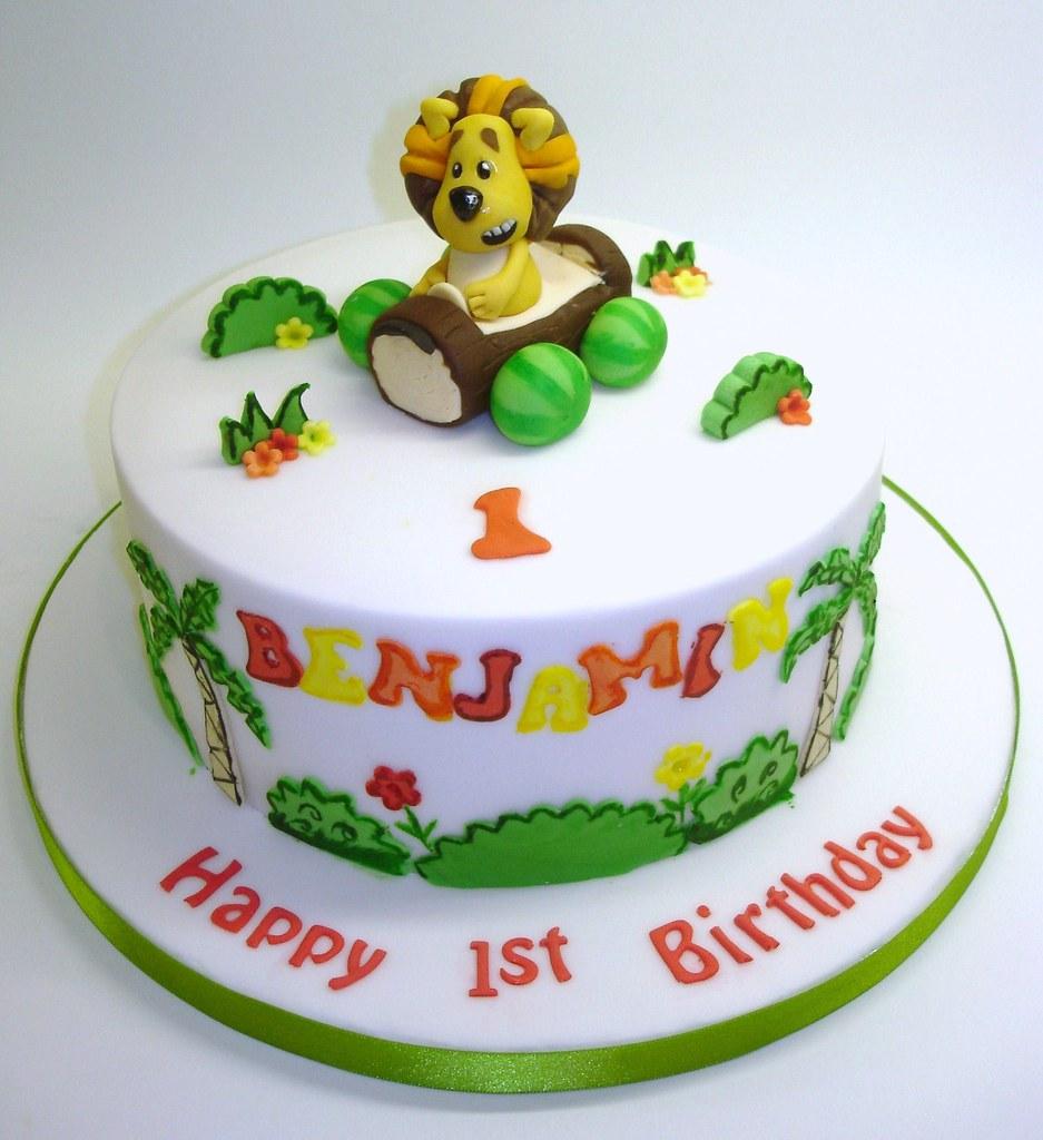 Raa Raa The Noisy Lion Cake Deb Flickr