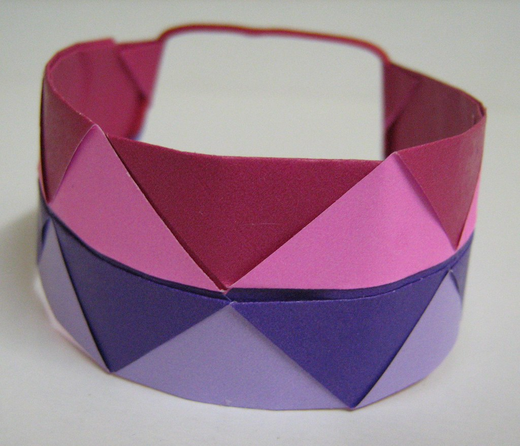 origami bracelet origami bracelet as shown by the