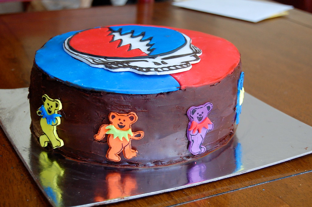 Grateful Dead Cake 2 By Aimerlee