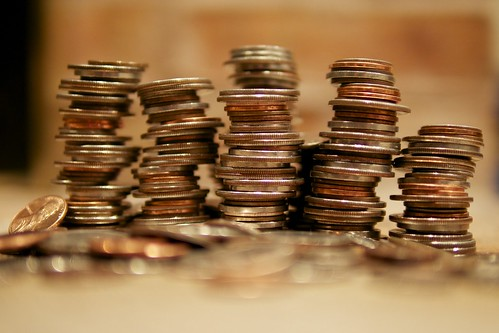 Stacks of Coins | by Au Kirk
