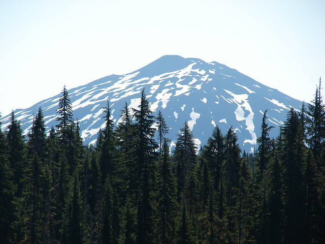 Mt. Bachelor from Horse Lake