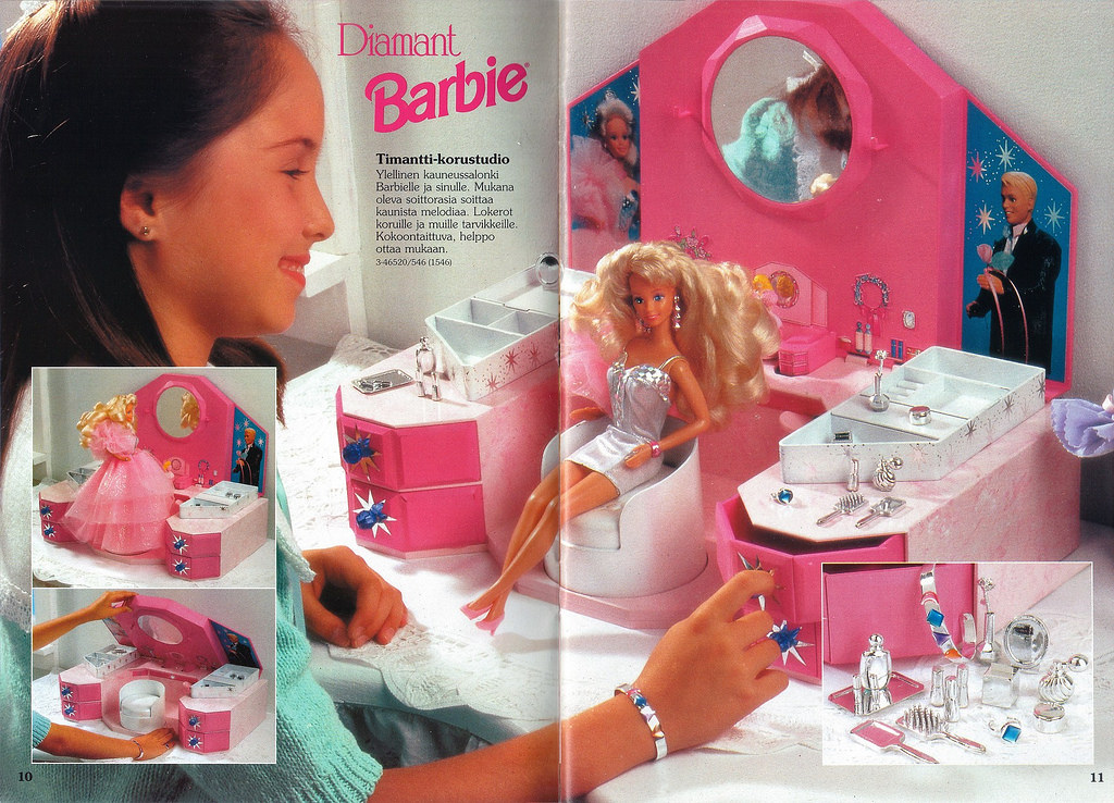 Barbie diamant jewelry box Waiting 4 this soowhat do y Flickr