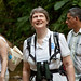 UNDP Administrator Helen Clark receives a recognition from the Community of Bijagual