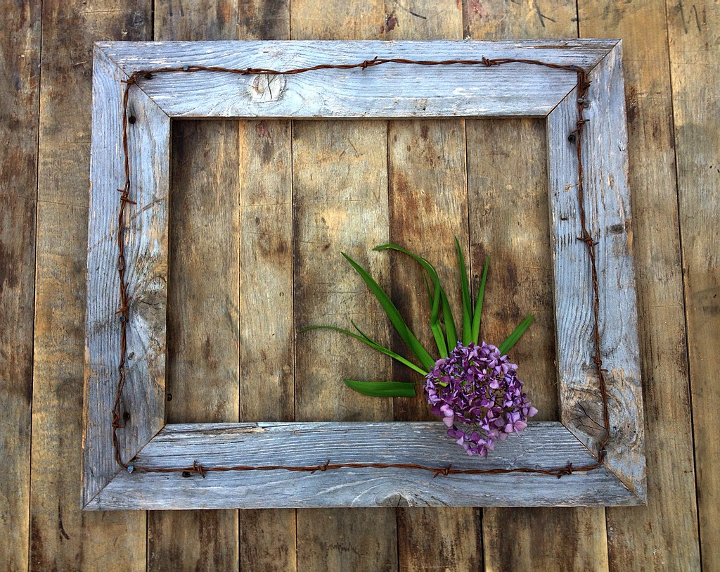 Rustic barn wood frames by menas decor https etsy