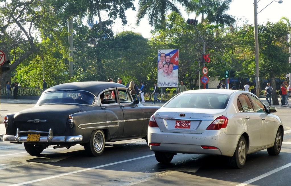 Chevrolet 1953 Geely Emgrand Ec718 La Habana Cuba Flickr