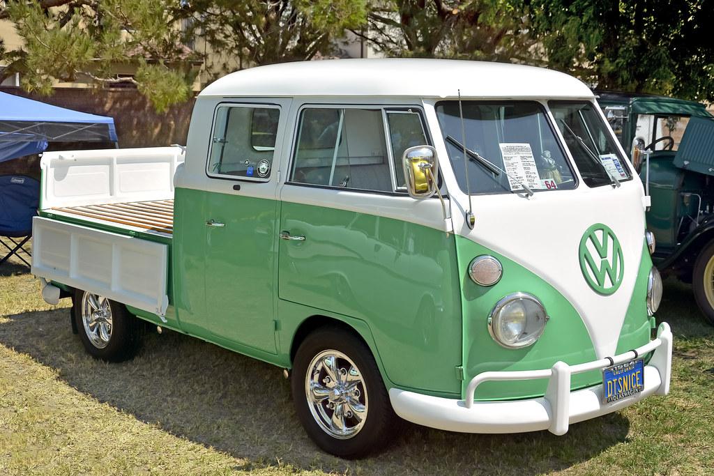 1964 Volkswagen Double Cab Pickup Garden Grove Ca The