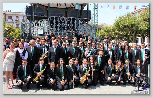 Briviesca en Fiestas 2016 Sopa de ajo, Recepción y canto del Himno a Briviesca 1 (17)