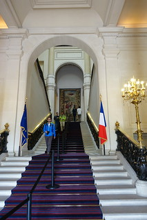 Stairs @ Quai d'Orsay @ Ministry of Foreign Affairs @ Paris | by *_*
