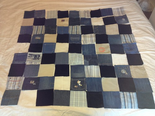 Baby Clothes Patchwork Quilt | by Pretty Flowers in the Window