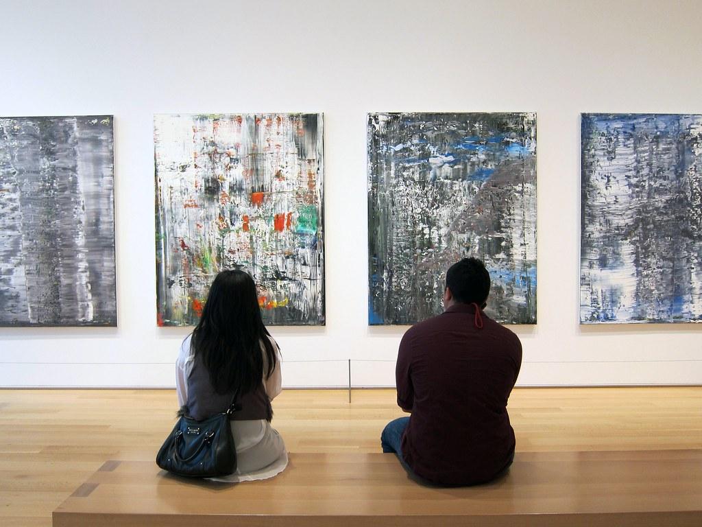 """Gerhard Richter's """"Ice"""""""