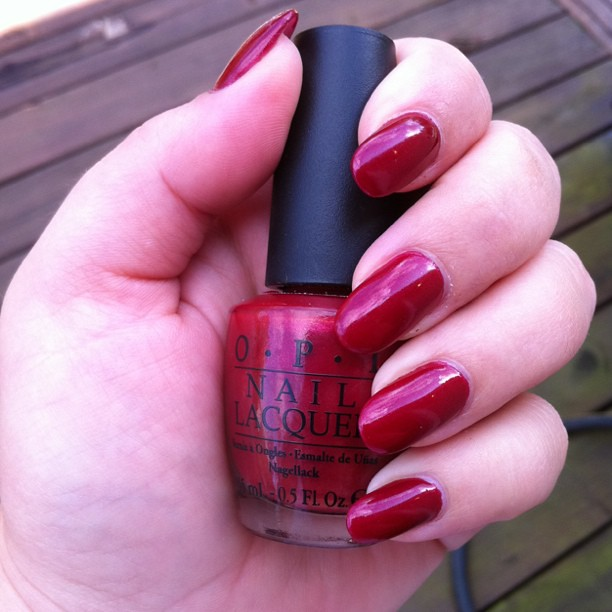 Opi Color To Diner For Today's mani: OPI Colo...