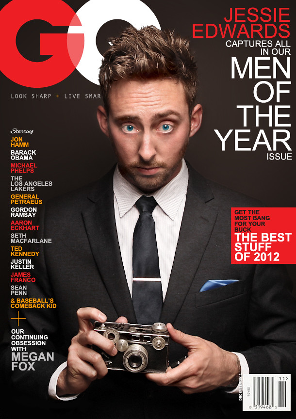 Fake gq Cover | by Jessie