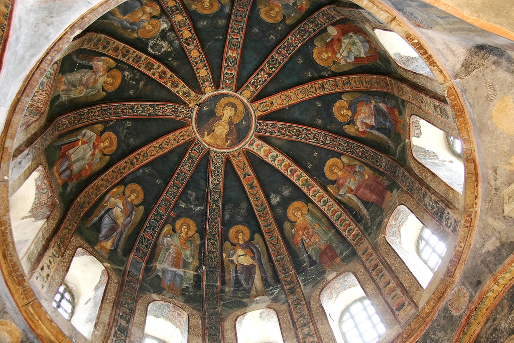 Angels in Chora Church, Istanb...